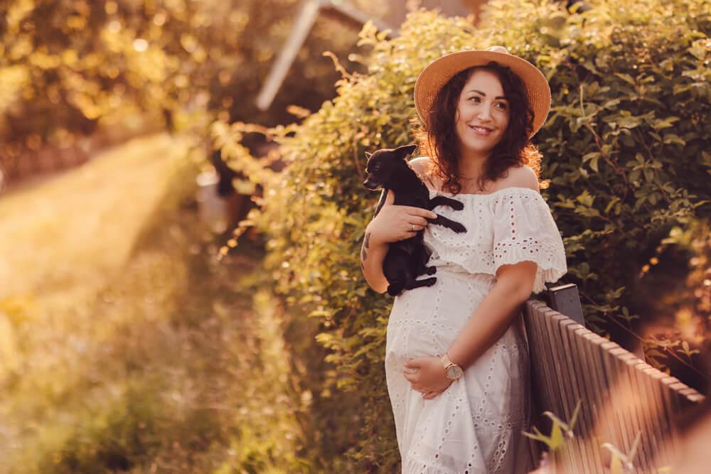 sesja-ciążowa-z-psem