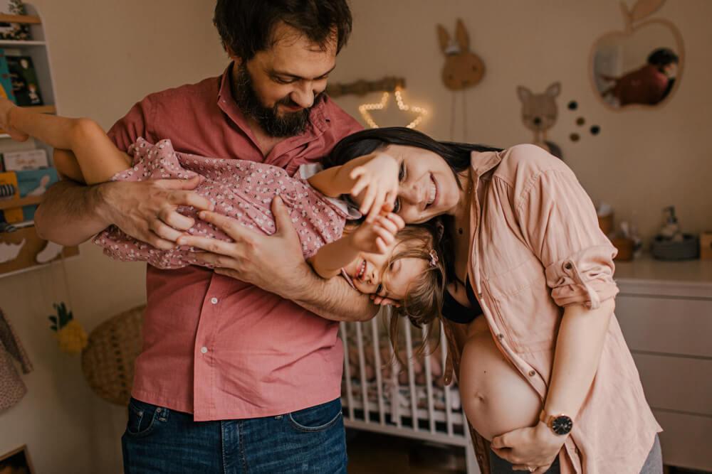 naturalna-sesja-ciążowa-warszawa